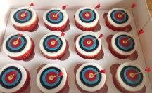 Celebrate-Cakes-Archery-cupcakes