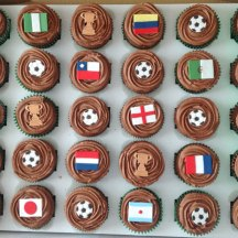 Celebrate-Cakes-World-cup-choc-cupcakes