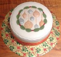 Celebrate!-Cakes-gold-silver-xmas