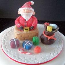 Celebrate-Cakes-Santa-in-Chimney3